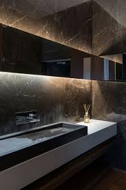 Black Modern Bathroom 32 Moody Bathroom Designs That Impress Digsdigs
