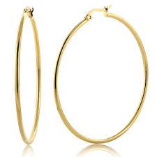 hoop earrings gold make your style with gold hoop earrings bingefashion