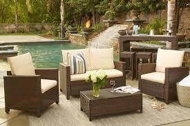 Wayfair Garden Furniture Beachcrest Home Belva 4 Piece Deep Seating Group With Cushions