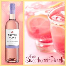 this sutter home wine cocktail couldn u0027t be sweeter pink