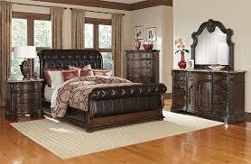 Value City Furniture Bedroom Set by American Signature Furniture Monticello Pecan Ii Bedroom