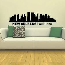 New Orleans Wall Decor Wall Decal Vinyl Sticker New Orleans From Amazon City