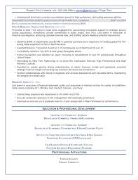 cfo resume exles cfo resume exles human resources executive directorvp resume