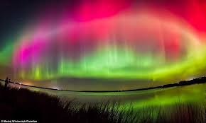 what creates the northern lights stunning video of the northern lights aurora borealis in britain