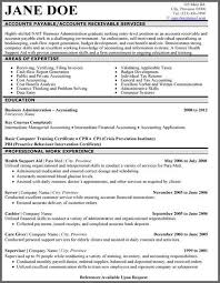 Accounting Sample Resume by Brilliantly Professional Sample Resume For Finance And Accounting