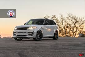 rose gold range rover white range rover sport with hre s200h in satin black hre