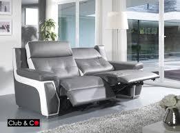 canapé 3 places 2 relax canap 3 places relax electrique canap relax et appuisttes