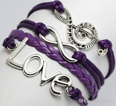 love charm leather bracelet images 7 styles handmade infinite music symbole love charm fashion jpg