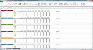 Spreadsheet Examples Excel Excel Training Matrix Examples Spreadsheets Training Spreadsheet