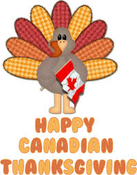 happy thanksgiving to all our canadian friends on friendship