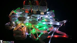 colorful xylobands light up centerpieces tlc creative