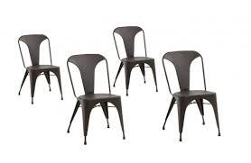 chaise m tallique chaise métallique vintage anatole x4 fauteuils chaises