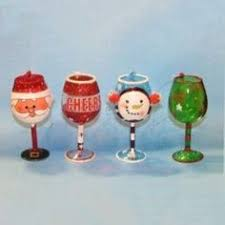 wine glass christmas ornaments santa s helper wine glass christmas ornament wine