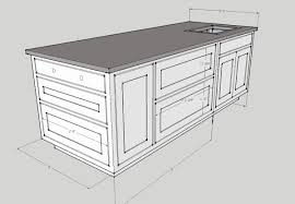 kitchen island blueprints wonderful kitchen island dimensions height and size king dinettes