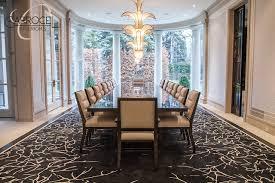 Grand Dining Room Custom Made Makassar Deco Style Grand Dining Table