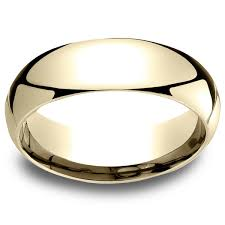 mens comfort fit wedding bands 18k yellow gold men s 6mm comfort fit wedding band free shipping