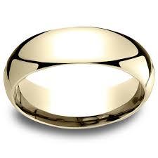 comfort fit wedding bands 18k yellow gold men s 6mm comfort fit wedding band free shipping