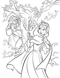 47 beauty beast coloring pages cartoons printable coloring