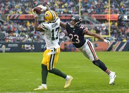 Flag Football Chicago 2017 Chicago Bears Week 10 Report Card Vs Green Bay Packers