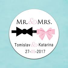 labels for wedding favors custom wedding sticker wedding favors personalized mr mrs labels