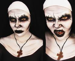 Makeup Tutorials For Halloween by Conjuring 2 Demon Nun Makeup Tutorial Ash Clements Youtube