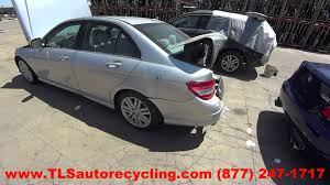 parting out 2009 mercedes c300 stock 5108gy tls auto recycling