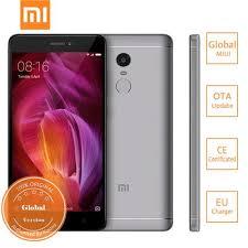Xiaomi Redmi Note 4 Offical Global Version Xiaomi Redmi Note 4 4g 64gb Smartphone Gray