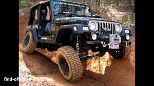 rubicon jeep jeep wrangler rubicon off road action black betty youtube