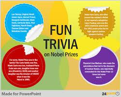 trivia powerpoint template round sticker labels powerpoint