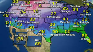 Dallas Weather Map by National Forecast For Wednesday December 7 Fox News Video