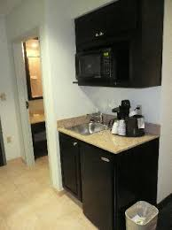 Small Kitchenette by Closet With Safe Iron Ironing Board And Extra Linens Picture Of
