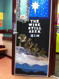 Classroom Door Christmas Decorations 35 Best Classroom Doors Images On Pinterest Decorated Doors