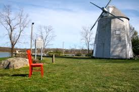 Cape Cod In April - cape cod red chair travels