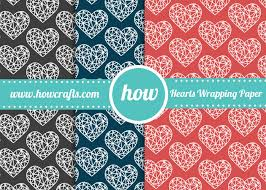 heart wrapping paper howcrafts heart wrapping paper howcrafts