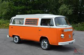 vw camper van for sale vw camper van t2 bay westfalia 1974 just restored