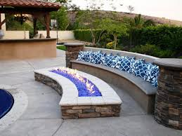 How To Build A Patio by Built In Firepit Outdoor Ideas U2014 Home Fireplaces Firepits