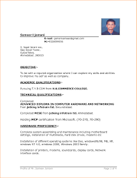 examples of resumes minimalist cv resume template job