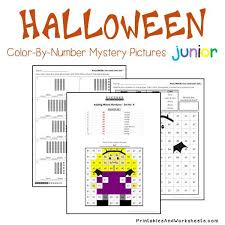 place value mystery number place value color by number printables worksheets