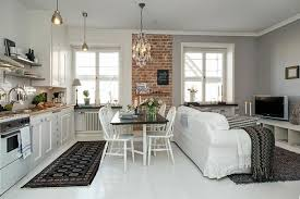 cuisine ouverte petit espace amenagement cuisine petit espace trendy pour une cuisine agrable