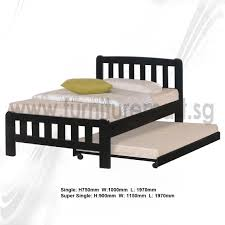 Bed With Pull Out Bed Sleek Pull Out Bed Plus Exterior Ideas For Pull Out Bed On