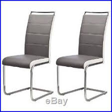 lot de 6 chaises salle à manger lot de 6 chaises de salle a manger gris blanc aucune lo