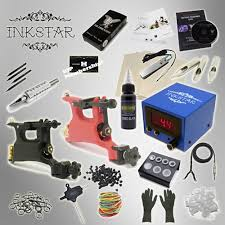 tattoo kit without machine complete tattoo kit inkstar journeyman rotary machine gun power