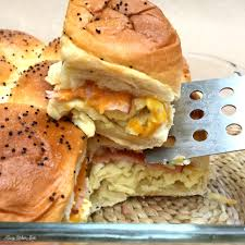 the rolls brunch sliders