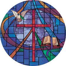 Stained Glass Window Decals Church Window Film Decorative Stained Glass Window Film