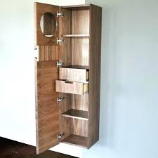 Bathroom Shelving And Storage Narrow Bathroom Cabinet Storage Alanwatts Info