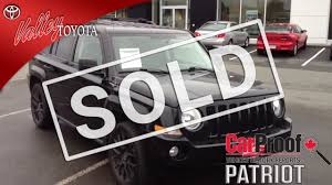 silver jeep patriot 2007 sold 2007 black jeep patriot 4x4 for sale at valley toyota scion