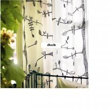 Leaf Curtains Ikea Ikea Curtains Eivor Decorate The House With Beautiful Curtains