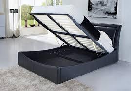 Ottoman Bed Black Fantastic King Size Ottoman Bed Frame New Luxury Storage Ottoman