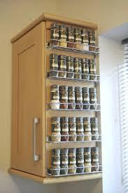 Spice Rack Cabinet Door Mount Spice Racks Rubbermaid Rack Target Wooden For Cabinet Door