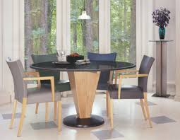 Modern Round Dining Sets Round Dining Table Sets With Granite Furniture Magnificent Kitchen